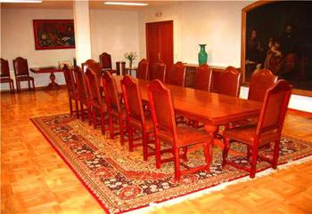salones convenciones reuniones hotel escuela madrid