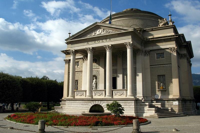 Museo dedicado a Alessandro Volta en Como.