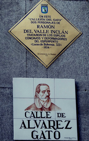Callejón del Gato, Madrid