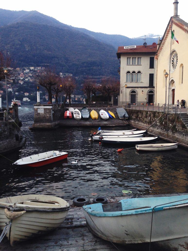 Torno, pequeño pueblo ubicado a orillas del Lago de Como.