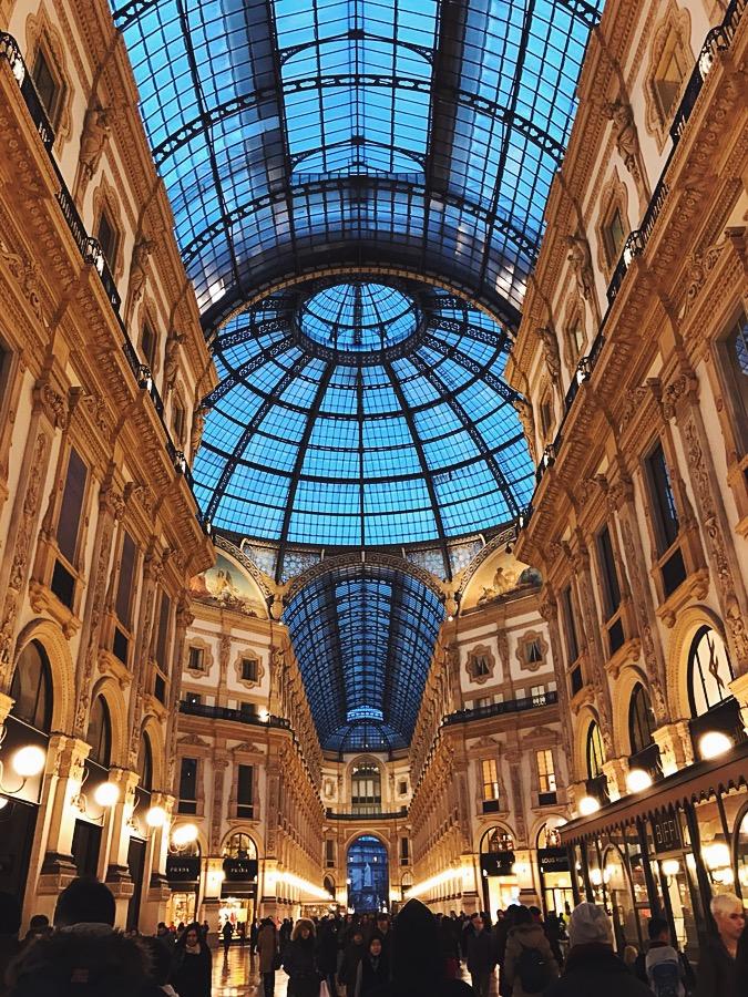 Interior de Las Galerías.